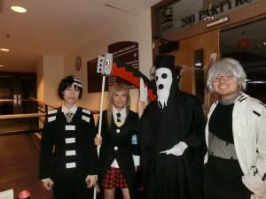 Soul Eater crew! o w  o!!