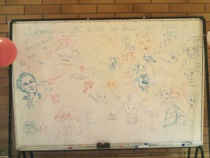 The community drawing board~! It got very popular after the first drawing! 8D