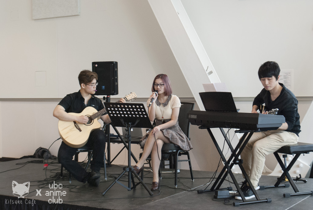 Our MC and her band!